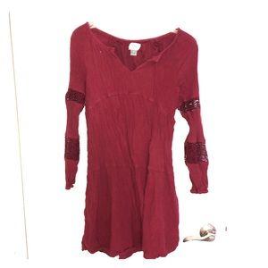 Medium Old Navy Red Dress